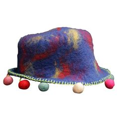 Himalaya felted hat...from Himalaya Crafts.
