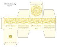 Caja para perfume color amarilla ♡ ♡