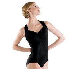 Empire Seamed Twist Back Ballet Leotard; Balera