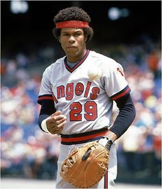 Rod Carew hit above for 15 consecutive seasons. During his 19 year career, Carew was named to the All-Star team 18 times. The only year he was not selected was his final year of baseball in Angels Baseball, Nationals Baseball, Sports Baseball, Baseball Cards, Baseball Wall, Mlb Players, Baseball Players, Sports Photos, Baseball Photos