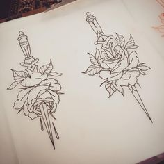ALEX BAGE - Hobbies paining body for kids and adult Black Ink Tattoos, Leg Tattoos, Flower Tattoos, Small Tattoos, Sternum Tattoo, Back Tattoo, Tattoo Sketches, Tattoo Drawings, Piercing Tattoo