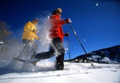 Stay summer fit with snowshoeing