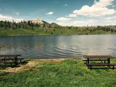 Fishing at Steamboat Lake - Line & Sight