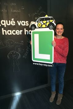 ELENA PEREZ!!! #newdriver #hoyvoy #autoescuela #barcelona