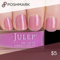 Julep Nail Polish in Ming, BNIB Julep Nail Polish in Ming, BNIB. Lilac crelly. Julep Makeup