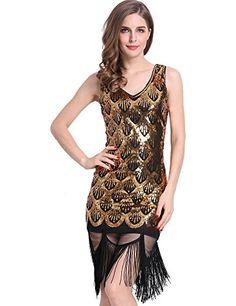 Black flapper dress amazon