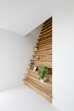 Alley House / Be-Fun Design. Storage-stairs