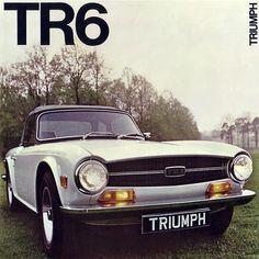 c1971 Triumph TR6 Brochure cover (TR 711)