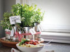 Italian Dinner Countertop Herb Garden by Sam Henderson for HGTV