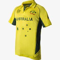 Australia's Cricket World Cup 2015 Kit Jersey  http://worldcup2015updates.blogspot.com/2014/11/australias-cricket-world-cup-2015-kit.html