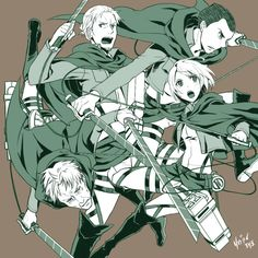 Levi's squad