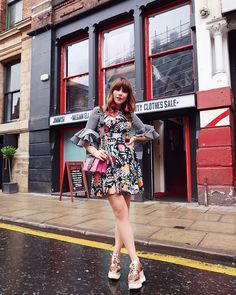 #Houseofholland Dress, #Stellamccartney Shoes, #Prada Bag (#Netaporter)  @meganellaby