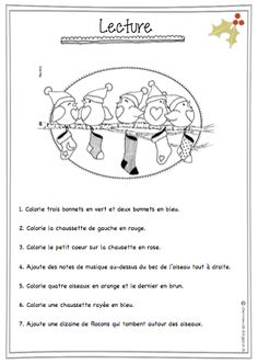 French Christmas vocab sheet, includes practice with numbers as well. French Teaching Resources, Teaching French, Teaching Tools, French Worksheets, French Education, Core French, French Christmas, French Classroom, French Immersion