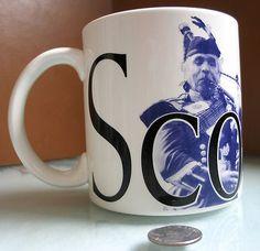 rare Starbucks 'City Series' Coffee Mug, 2002 - Scotland | 20oz