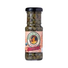 Organic Non-Pareil Capers by Paesana www.theteelieblog.com Paesana Non Pareil Capers are flower-buds that are hand picked from a bush native to the Mediterranean. After sun-drying, they are pickled in vinegar. They add a unique, salty tang to your salads, sauces, sushi, meat, poultry, seafood, or as a garnish to your favorite dish. #thrivemarket