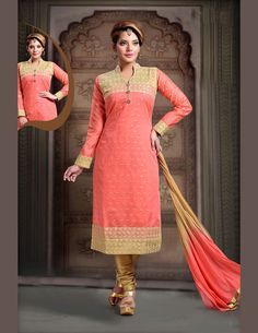Buy excellent collection of designer salwar kameez and churidar kameez online. Grab this art silk and net embroidered and lace work readymade suit for festival and party. Indian Anarkali, Indian Salwar Kameez, Churidar Suits, Ethnic Suit, Ethnic Dress, Indian Ethnic Wear, Indian Suits, Pakistani Suits, Salwar Dress