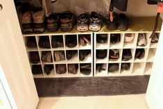 Need to do this shoe thing for my entry way for the kids shoes and etc.