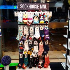 """""""Imported fun and quirky socks only at @sockhousemnl - place of the best socks designs in town! #socksmanila #socksmnl #socks #socksforsaleph #lookingforph…"""""""