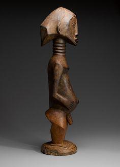 Oriental, African Sculptures, Male Figure, Republic Of The Congo, African Art, Belgium, Auction, Fine Art, Photograph