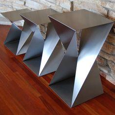 Twist Table Bases – Custom Metal Home
