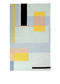 The Teva Flatweave Rug, in Pastel Mix. The perfect balance between bold and subtle pattern. £129. MADE.COM