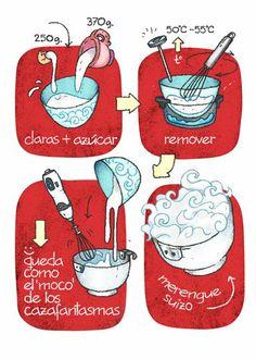 Cartoon Cooking: Mmmerengue suizo.