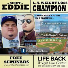 THINK BLUE: eddie he lost 133 #pounds so #far with @lifeback_weightloss_ so proud of him!! #la #losangeles #dosgerstadium #dodgers #stud #model #weightloss #weightlossjourney #weightlosstransformation @dodgers #lifeback #drsedrak #sunglasses #gastricsleeve #sleeve #postop #postoperation #dodgerfan #fan #mlb #baseball #fit #model #male #safe #surgery #team #allstar #openingday2016 #openingday by biggutz