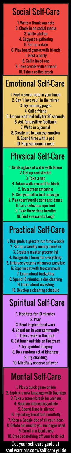 Step up your self care
