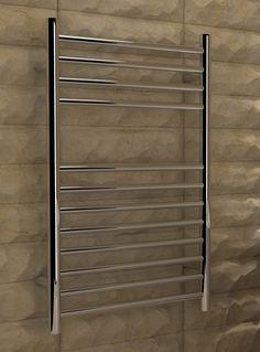 Kudox Designer Towel Rail Lugana Flat x Mirror Polished Stainless Steel Loft Bathroom, Towel Rail, Polish, Stainless Steel, Flats, Mirror, Design, Home Decor, Loafers & Slip Ons