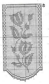 Resultado de imagem para szydełkowe schematy firanek
