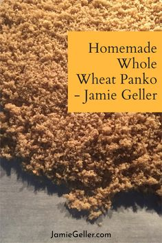 We love panko for the way it makes anything taste extra crispy, but it is not always easy to find it whole wheat and when you do it is expensive. Making your own is easy and more affordable. #vegan #vegetarian #panko Vegan Vegetarian, Vegetarian Recipes, Food Terms, 5 Ingredient Recipes, Whole Wheat Bread, Bread Crumbs, Quick Easy Meals, Bread Recipes, Food Processor Recipes