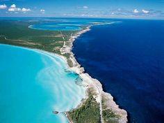 Bahamas where Pacific meets the Gulf