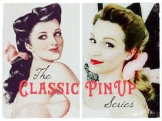 EASY Pin Up Hairstyle-Alberto Vargas Inspired -  This would work for my face if I minimized the height and played up the side width.