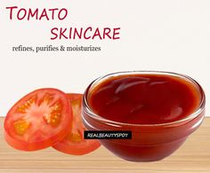 Homemade Tomato Beauty Products