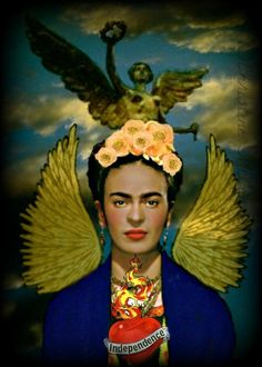 And the appearance of Rosario—only last Wednesday—who, like a good witch, communicated deep truths in the vernacular of poetry, empowerment, and images of Frida Kahlo.—The Girl Who Watched for Elves
