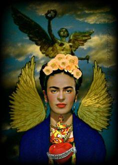 Frida Kahlo Angel of Independence