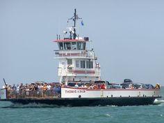 Ferry ride to Oracoke Island
