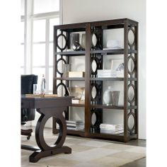 Hooker Furniture Kinsey Etagere Pier in Walnut Hooker Furniture,http://www.amazon.com/dp/B008KGK55G/ref=cm_sw_r_pi_dp_J.lntb1Z2X4SWGQP $798
