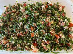 Gluten Free Recipes, Gourmet Recipes, Vegetarian Recipes, Cooking Recipes, Healthy Recipes, Quinoa Tabouleh, Quinoa Salad, Food Dishes, Side Dishes