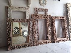 Hand Carved Wooden Mirror From Bali Etsy Bali And Mirror