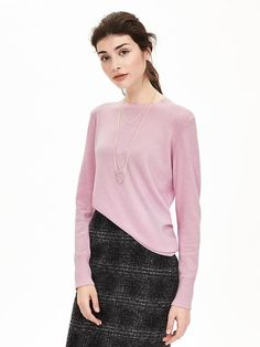 I love cashmere and wool sweaters, particularly ones that can go with a pencil skirt or trousers for work