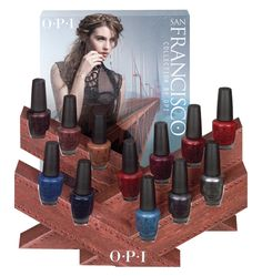 Polish Up Your Fall Look with the New OPI San Francisco Collection-Giveaway