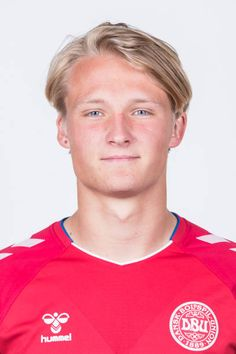 Kasper Dolberg of Denmark poses during official FIFA World Cup 2018 portrait session on June 12 2018 in Anapa Russia Fifa World Cup 2018, Poses, Soccer Players, Cute Guys, Polo Ralph Lauren, Sporty, Celebs, Mens Tops, Football