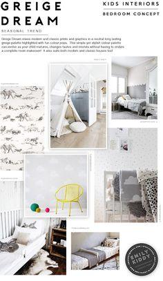 Kids Interior Trend // Greige Dream   Multi Seasonal