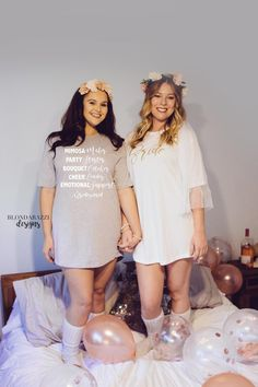 Sleep Shirt Tunics for the Bride and her Bridesmaids inspired by Show Me Your Mumu Brides Maid Shirts, Bride Shirts, Bridesmaid Duties, Bridesmaid Gifts, Bridesmaids, Bachelorette Outfits, Bachlorette Party, Flower Girl Shirts, Wedding Looks