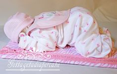 Pink Sleeping diaper babies, diaper cakes, baby shower, center piece, boy diaper baby, girl diaper baby, baby gifts, unique gifts, - http://www.babyshower-decorations.com/pink-sleeping-diaper-babies-diaper-cakes-baby-shower-center-piece-boy-diaper-baby-girl-diaper-baby-baby-gifts-unique-gifts-2.html