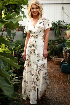 Floral Forever Maxi Dress