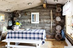 Ideas and inspiration Decor, House Design, Cottage, Home, Tupa, Scandinavian Home, Country Cottage, Cottage Design, Wooden Cottage