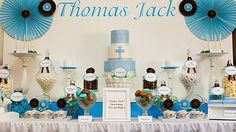 christening sweets table