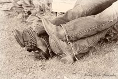 cutest couple!!..... #cowboy boots, #couple, #rustic, #western